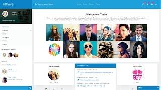 How to Make a Social Networking Website like Facebook using WordPress - Membership Website 2017