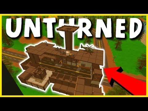 ADMIN CLAN COMPOUND BASE RAID! ADMIN SHOP RAID! (Unturned Base Raids)
