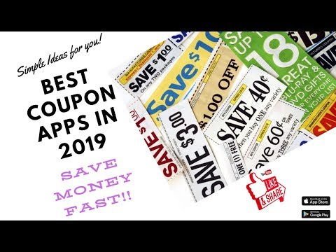 Best Coupon Apps 2019