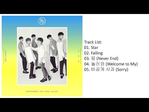 [Mini Album] BOYFRIEND – NEVER END