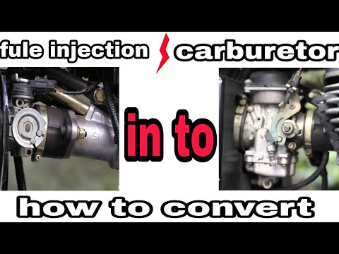 How to convert | fuel injection | into carburettor |  Royal Enfield 500cc |
