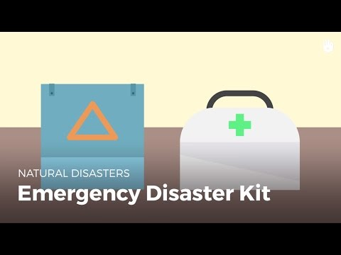 Emergency Disaster Kit | Disasters