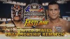 WWE Fastlane 2016 Official Match Card l Kalisto vs. Alberto Del Rio