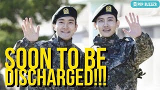 TVXQ Changmin And Super Junior Siwon To Be Discharged From The Military Next Week