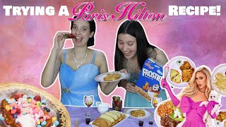 COOKING A PARIS HILTON RECIPE - Frosted Flake French Toast  *Is it Edible?!*