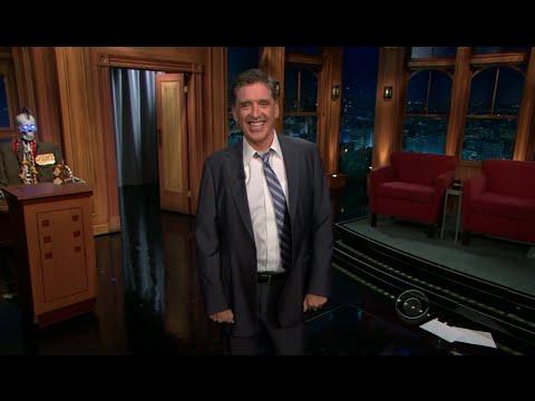 Late Late Show with Craig Ferguson 10/12/2011 Jim Parsons, Cake