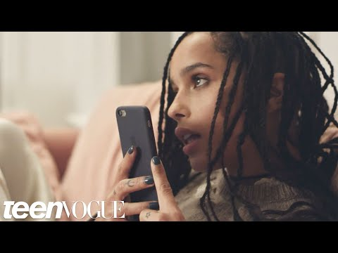 Zoë Kravitz Makes Prank Phone Calls  Teen Vogue