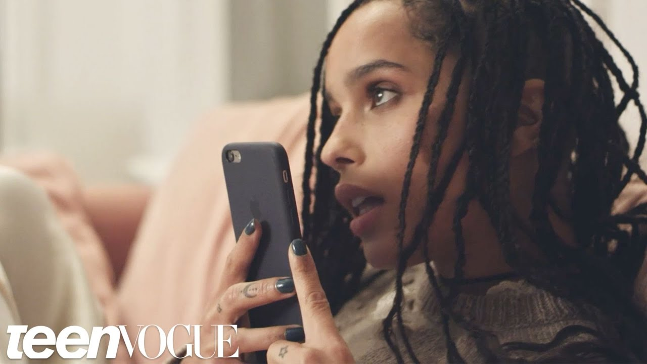 Zoë Kravitz Makes Prank Phone Calls | Teen Vogue
