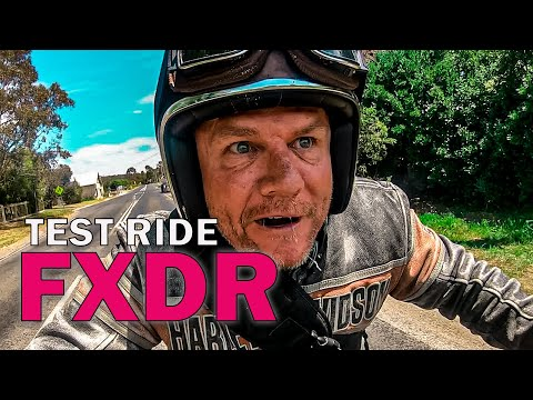 TEST RIDE - AUSTRALIA'S FASTEST FXDR HARLEY DAVIDSON