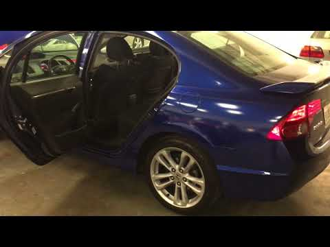 2007 Honda Civic Si Royal Blue Clean Title