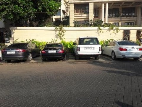 Luxury House And Car rekha's house with luxury cars! basera! in mumbai! - youtube