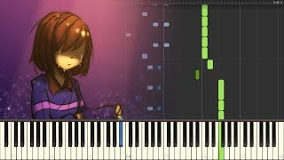 Delta Rune OST - Fields of Hope and Dreams [Piano Synthesia + Sheets]