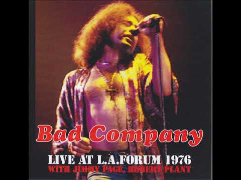 Bad Company - Live At The Forum With Jimmy Page & Robert Plant [1976]