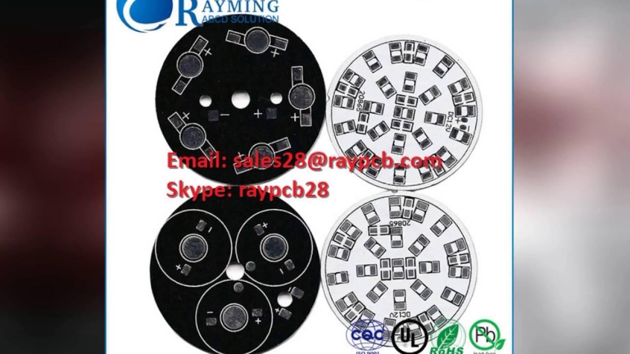 RayMing Led PCB manufacturer, Aluminum pcb board, led circuit boards,  aluminum circuit board