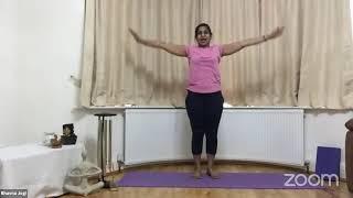 02-06-2021 - Hatha Yoga With Bhavnaben Jogi