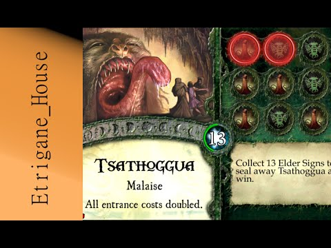 Elder Sign Omens  Grand Ancien #2  Tsatthoggua part 1
