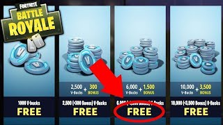 IT 7,500 V-BUCKS FOR FREE ON FORTNITE (PS4/XBOX/PC)!