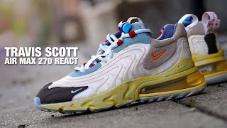 TRAVIS SCOTT Nike AIR MAX 270 React Cactus Trail REVIEW & GIVEAWAY