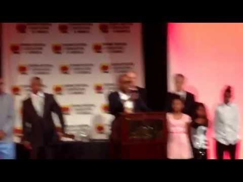 Boxing writers association of America Gala awards- Mayweather honoured @ Boxingtalk / BoxingShow.TV