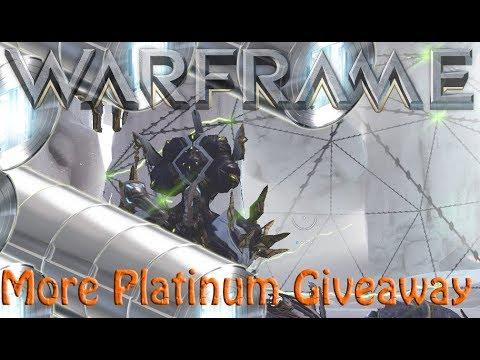Warframe - More Platinum Giveaway [3x per platform]