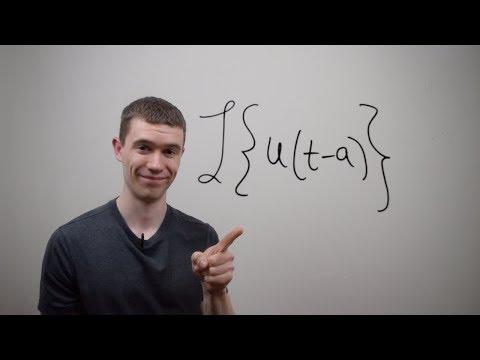 Laplace Transform of Unit Step Function u(t-a)