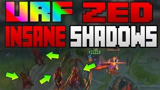 URF is BACK PBE   Zed Insane Shadows Lethality Build   League of Legends   URF 2017   Patch 7.4