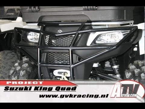 ATV Television - 2011 Suzuki King Quad Project - YouTube