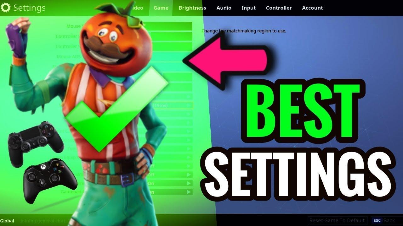 best fortnite console settings xbox ps4 season 4 fortnite battle royale best console settings - fortnite console settings xbox
