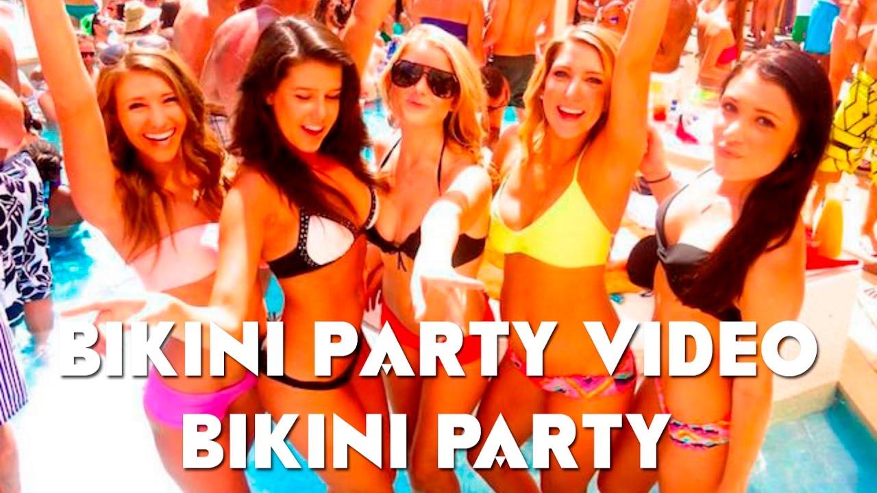 Bikini party video
