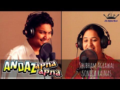 Ye Raat aur ye Doori | Andaaz Apna Apna | The Gifted Geek | Cover |