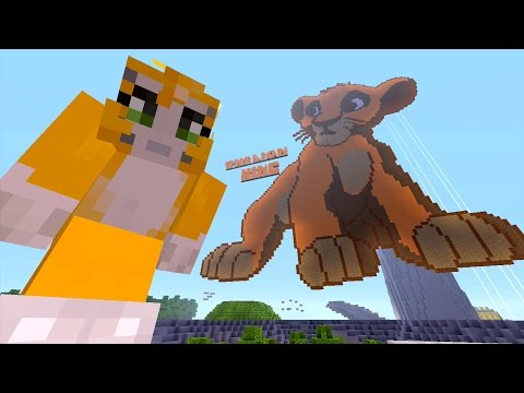 Minecraft Xbox - Lion King - The Circle Of Life (1)