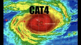Major Cyclones (CAT4) on prowl / Rivers rising fast in South East USA as flooding looms