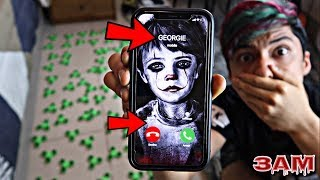 DO NOT SPIN 100 FIDGET SPINNERS AT 3AM!!! *OMG IT MOVIE GEORGIE CAME TO MY HOUSE*