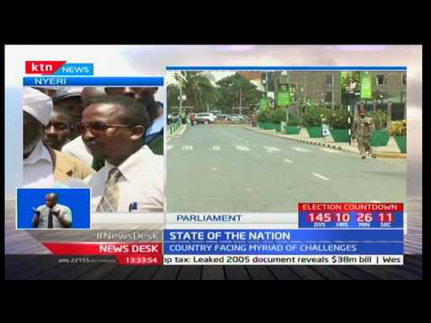 Nyeri residents are happy with the way the education and transport sector has been improved