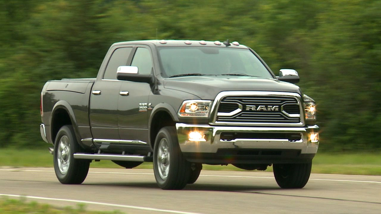 2016 ram 2500 running footage youtube. Black Bedroom Furniture Sets. Home Design Ideas