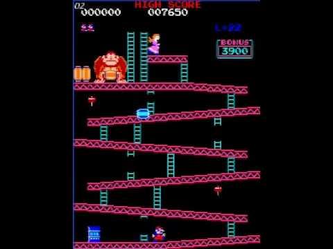 Donkey Kong Kill Screen on Level 22