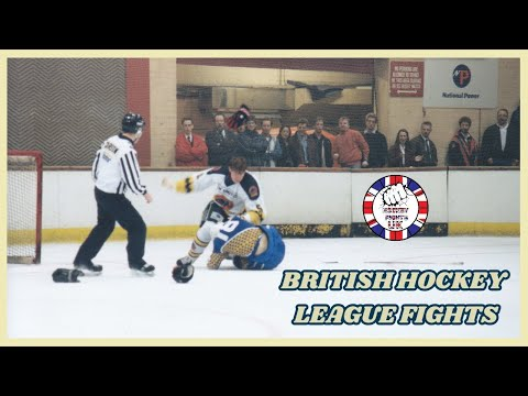 British Hockey League Fights