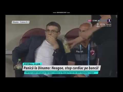 Un entrenador de fútbol sufre un infarto en medio de un partido