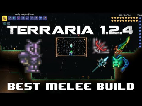 Best Terraria Melee Build