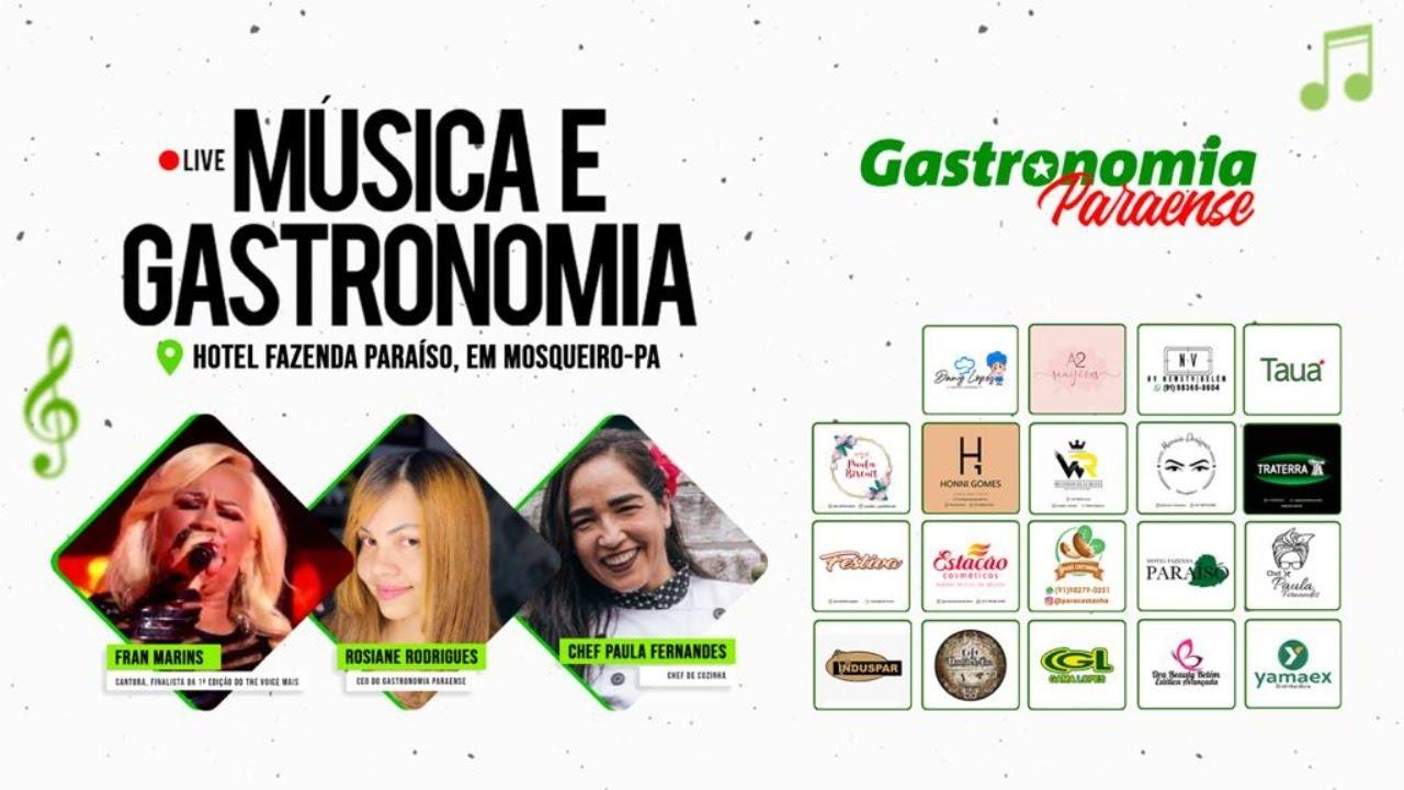 MÚSICA E GASTRONOMIA com Fran Marins