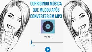 COMO CONSERTAR MÚSICA NO WALK BAND QUE MUDOU APÓS PASSAR PARA MP3