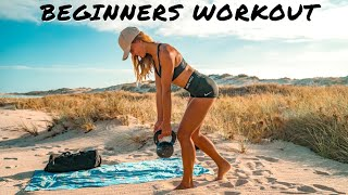 GLUTES & LEG WORKOUT FOR BEGINNERS - Stay Fit & Healthy while Overlanding/Touring/Camping/Van Life