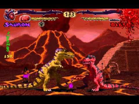 Primal Rage Sauron Playthrough Part 1 - YouTube
