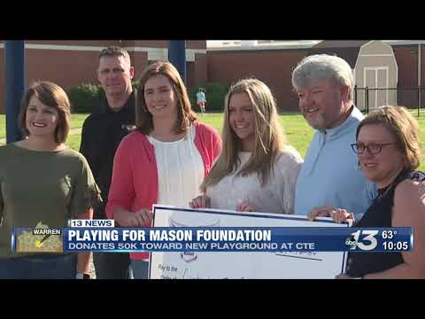 Playing for Mason Foundation donates 50k to Cumberland Trace Elementary School