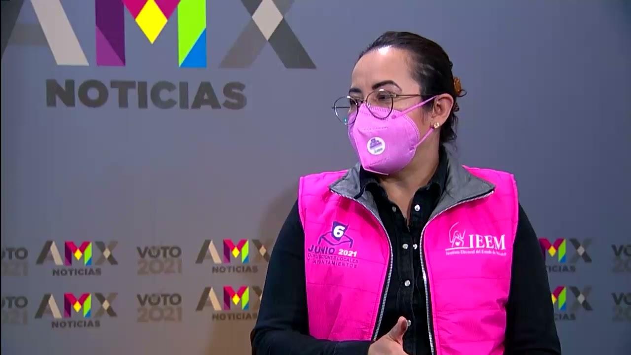 Download Durante la Jornada Electoral se observó  gran afluencia de votantes: Liliana Martínez en entrevista.