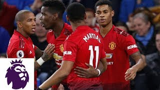 Marcus Rashford fools goalkeeper with free kick | Premier League | NBC Sports