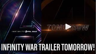 New Avengers Infinity War Trailer Tomorrow! thumbnail