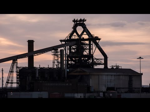 Steel Life: An abandoned steelworks timelapse film