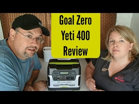 RV Boondocking Accessory: Goal Zero Yeti 400 ~ Long Term Review
