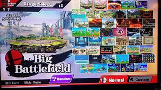 Super Smash Bros. For Wii U - All Stages RE-UPLOAD